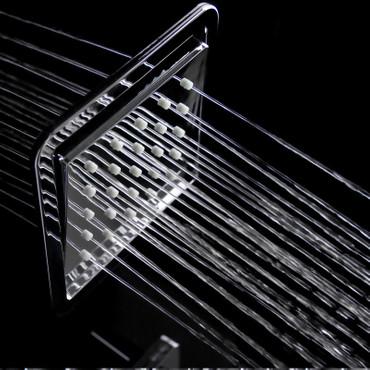 Duschpaneel mit schwarzem Glas und vielen Funktionen (8812) – Bild 5