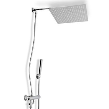 Duschsystem Aufputz mit Schlauchverbindung Steinkirch Duschkombi 400-G – Bild 1
