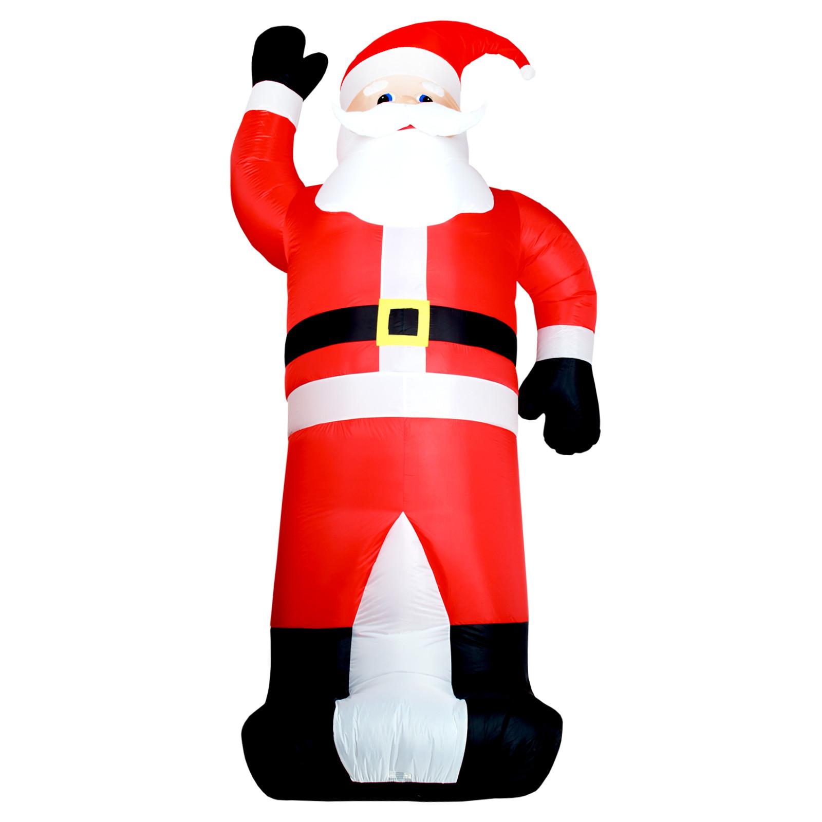 aufblasbarer weihnachtsmann 350 cm weihnachtsdekoration. Black Bedroom Furniture Sets. Home Design Ideas