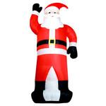 Aufblasbarer Weihnachtsmann 350 cm Weihnachtsdekoration Aussen xxl 001