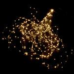 LED Lichterbündel 18 Stränge mit 364 warm weissen Micro LED`s 200cm 001