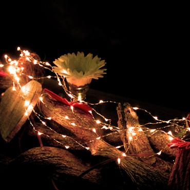 LED Lichterkette mit Batterie und 70 Micro LEDs – Bild 2