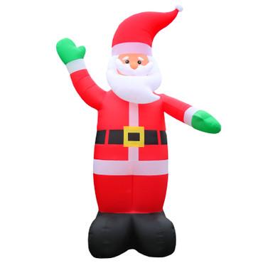 Weihnachtsdeko XXL 6 Meter Weihnachtsmann Inflatable – Bild 1