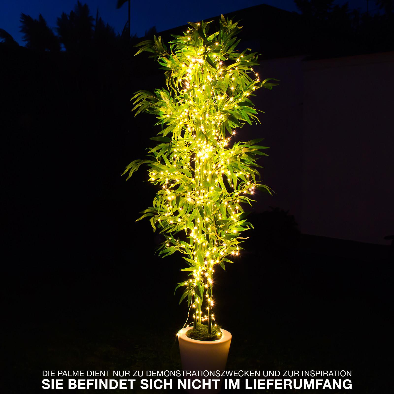 micro led lichterkette mit bis zu 700 leds und 250 cm l nge beleuchtung lichterketten. Black Bedroom Furniture Sets. Home Design Ideas