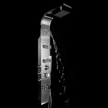 Duschpaneel Edelstahl SK-301V frei konfigurierbar – Bild 8