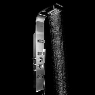 Duschpaneel Edelstahl SK-301V frei konfigurierbar – Bild 9