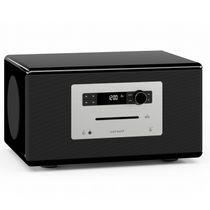 Soundsystem, Digitaler Soundprozessor (DSP), FM/DAB/DAB+Radio, Slot-In CD-Player, Bluetooth, Vorinstallierte Relax- und Meditationsinhalte, Fernbedienung, Handgeschliffenes Holzgehäuse in Hochglanzlack mit abgerundeten Ecken