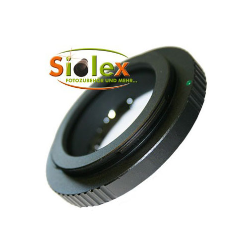 SIOCORE AF-semi-automatic lens adapter Tamron Adaptall II bayonet to Canon EOS