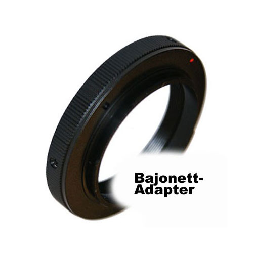 SIOCORE Lens Adapter T2 Bajonet to Nikon F Camera