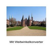 0.6x HD Weitwinkel-Konverter Vorsatzlinse Panasonic Lumix DMC-FZ7 FZ8 by SIOCORE Bild 3