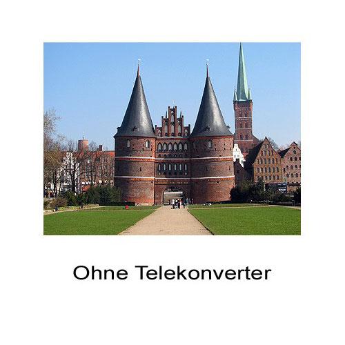 2.0x Tele-Konverter Tele-Vorsatz-Linse f. Casio Exilim Pro EX-P505 by SIOCORE Bild 2