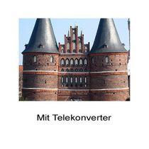 2.0x Telekonverter Tele-Vorsatz-Linse Fuji Fujifilm Finepix E550 E900 by SIOCORE Bild 3