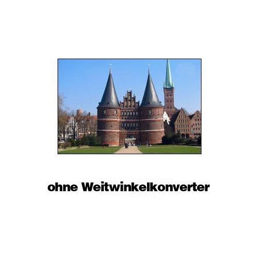 0.45 Weitwinkelkonverter Vorsatzlinse Kodak Z730 DX7440 DX6440 DX6340 by SIOCORE Bild 2