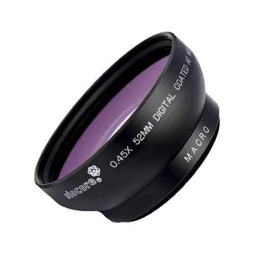 SIOCORE 0.45x wide angle Converter lens + Macro-lens CANON Powershot G6