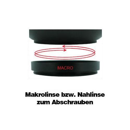0.7 Weitwinkelkonverter Vorsatzlinse + Makro Fuji S9500 S9600 S6500fd by SIOCORE Bild 4