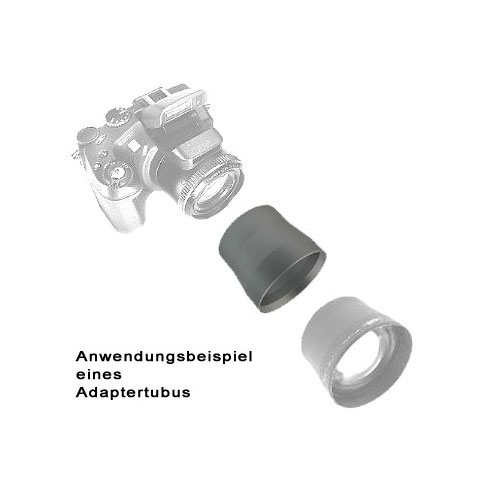 SIOCORE Filter Adapter Tube for FUJI Fujifilm FinePix E550 E900 Bild 2