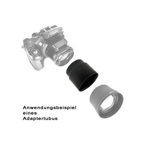 SIOCORE Filter Adapter Tube for OLYMPUS Camedia C-5060 C5060 C-7070 C7070 Bild 2