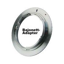 SIOCORE Lens Adapter Rollei Rolleiflex QB Bayonet to Canon EOS camera Bild 1