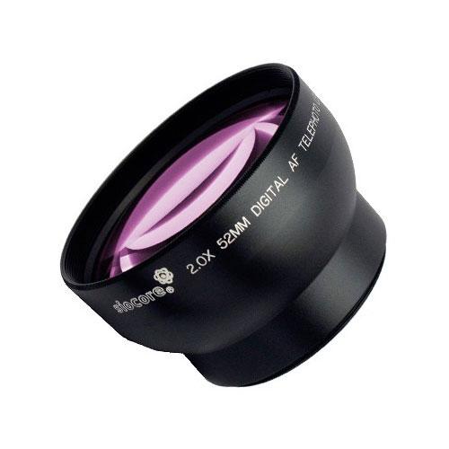 SIOCORE 2.0x Tele Converter Lens for NIKON Coolpix P5000 P5100 Bild 1
