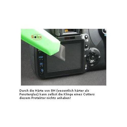Echtglas LCD Displayschutz für Sony Alpha A100 Bild 4