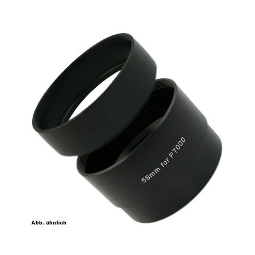 Splitted SIOCORE Filter Adapter Tube for NIKON CoolPix P7000 and P7100