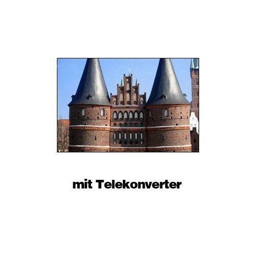 SIOCORE 25mm 1.75x PRO HD Teleconverter Tele Converter Lens for Camcorder Bild 3