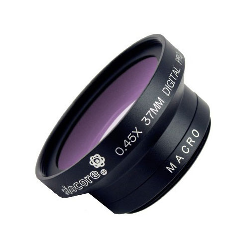SIOCORE 28mm 0.45x wide angle Converter Lens + close-up Lens macro Lens