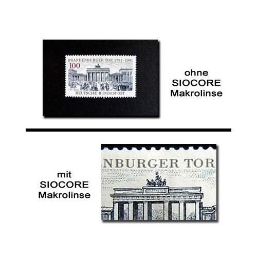 55mm +12,5 Nahlinse Makrolinse Makrokonverter Makro-Vorsatz-Konverter by SIOCORE Bild 2