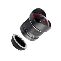 SIOCORE 8mm f3.5 Fisheye-Lens / Ultra Wide Angle-Lens for SAMSUNG NX bajonet Bild 2