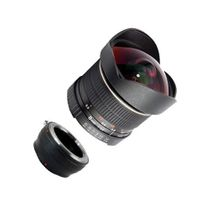 SIOCORE 8mm f3.5 Fisheye-Lens / Ultra Wide Angle-Lens for FUJI X Bajonet Bild 2