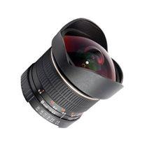 SIOCORE 8mm f3.5 Fisheye-Lens / Ultra Wide Angle-Lens for PENTAX Q bajonet Bild 1