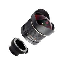 8mm f3.5 Fisheye-Objektiv bzw. Ultra Weitwinkel-Objektiv f. PENTAX Q by SIOCORE Bild 2
