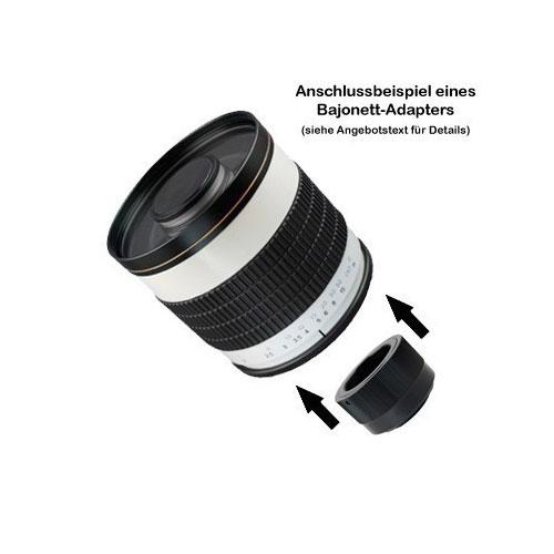500mm f6.3 Spiegellinsen Tele-Objektiv f. Nikon F Bajonett Kameras by SIOCORE Bild 2