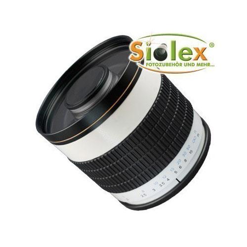 SIOCORE 500mm f6.3 mirror Lens Tele-Lens for Nikon 1 Bajonet cameras