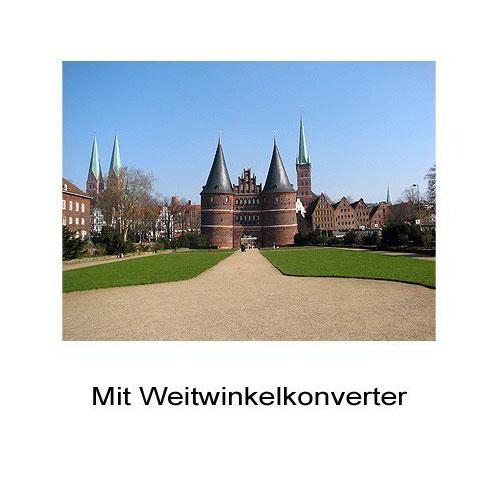 0.6x HD Weitwinkel-Konverter Vorsatz-Linse f. Canon PowerShot G1X by SIOCORE Bild 3