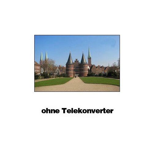 KENKO Teleplus MC Pro 300 DGX 1.4x Telekonverter für Nikon F Bajonett Objektiv Bild 3