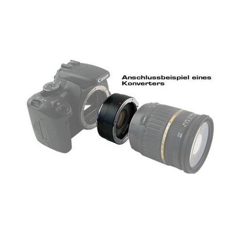 KENKO Teleplus MC Pro 300 DGX 1.4x Telekonverter für Nikon F Bajonett Objektiv Bild 2