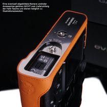 GARIZ real leather designer half case for FUJI FinePix X-Pro1 ( XS-CHXP1OR ) Bild 4