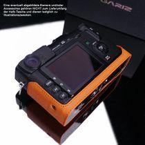 GARIZ real leather designer half case for FUJI FinePix X-Pro1 ( XS-CHXP1OR ) Bild 5