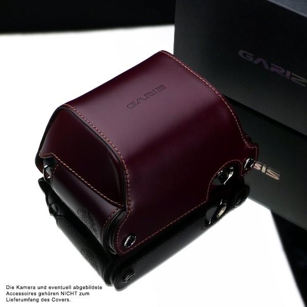 GARIZ real leather protection cover for PANASONIC DMC-GX1 half case ( XA-CCGX1BR ) Bild 3