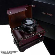 GARIZ real leather protection cover for PANASONIC DMC-GX1 half case ( XA-CCGX1BR ) Bild 4