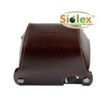 GARIZ Echtleder Schutzumhüllung für PANASONIC DMC-GX1 Halb-Tasche ( XA-CCGX1BR ) Bild 1