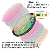 55mm Digital HD-MRC (Multi-Resistance-Coating) CPL / C-PL Filter (Slim-Line) Bild 2