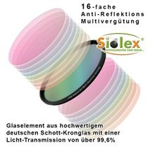 67mm Digital HD-MRC (Multi-Resistance-Coating) UV Filter (Ultra-Slim-Line) Bild 2