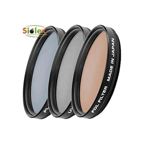 58mm Filter Set bzw. Filterset ( UV, PL und FDL ) Bild 1
