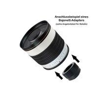 SIOCORE 500mm f6.3 mirror Lens Tele-Lens for CANON EOS M Bajonet Bild 2