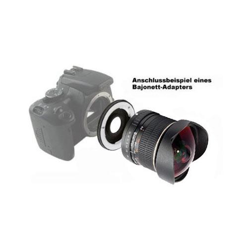 SIOCORE 8mm f3.5 Fisheye-Lens / Ultra Wide Angle-Lens for CANON EOS M bajonet Bild 3