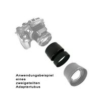Zweigeteilter Filter-Adapter-Tubus f. Nikon CoolPix P7700 by SIOCORE Bild 2