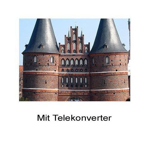 1.8x HD Tele-Konverter Tele-Vorsatz-Linse f. Nikon Coolpix P7700 by SIOCORE Bild 3