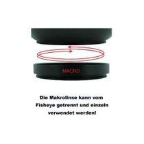 40,5mm 0.25x Fisheye-Konverter Fisheye-Vorsatz-Linse f. Systemkameras by SIOCORE Bild 5